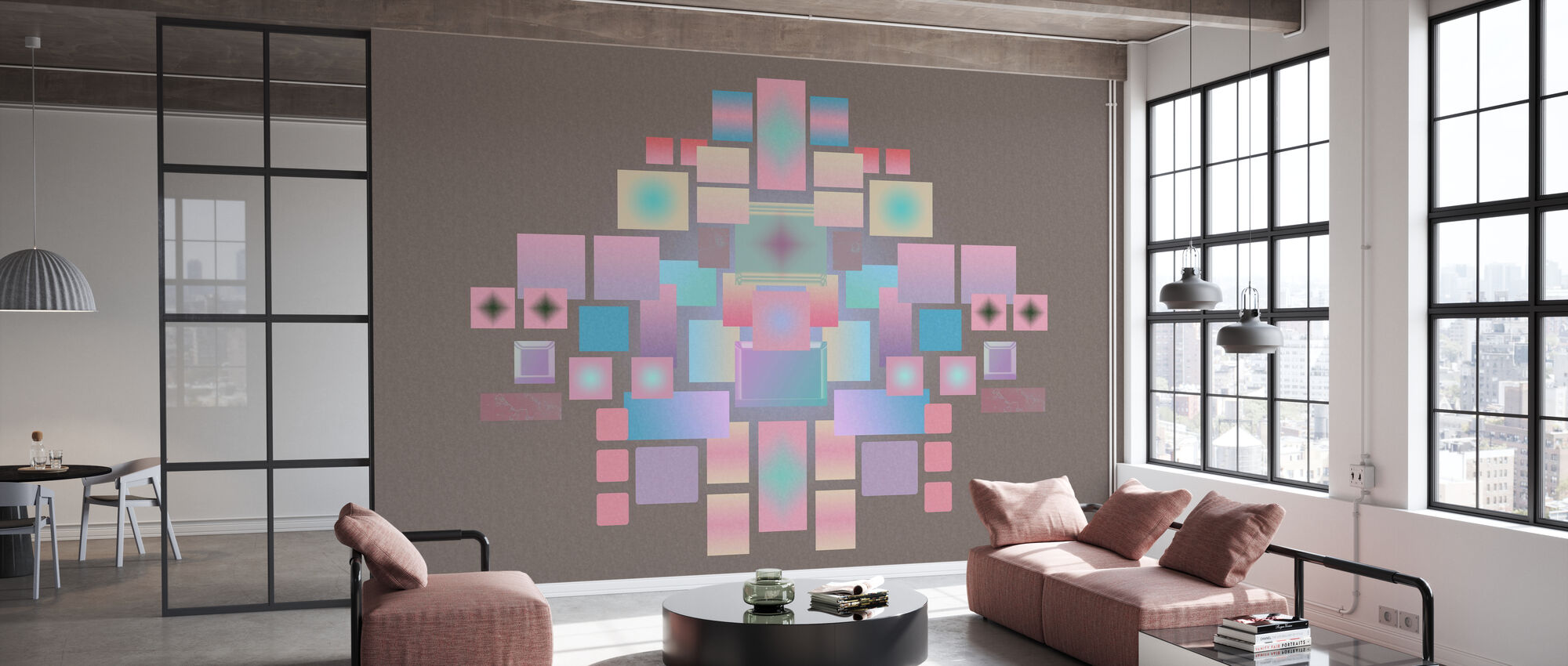 Cosmic Geometrics - Wallpaper - Office
