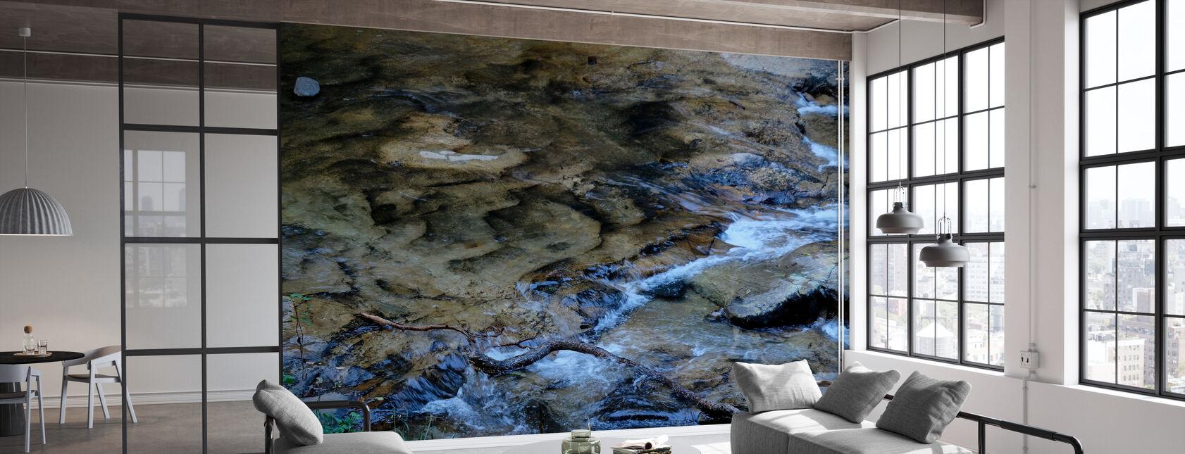 River Flow - Wallpaper - Office