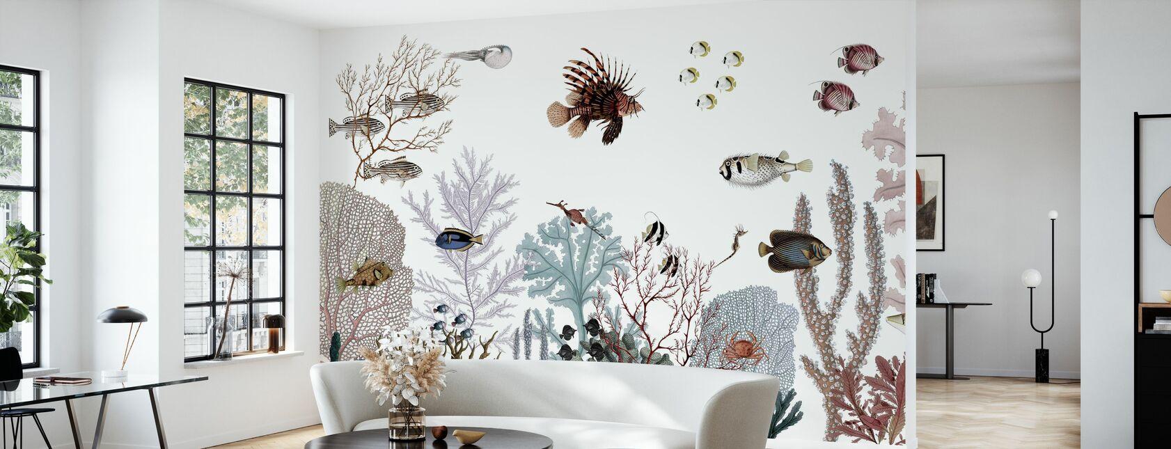 Roaring Reef - Tapet - Vardagsrum