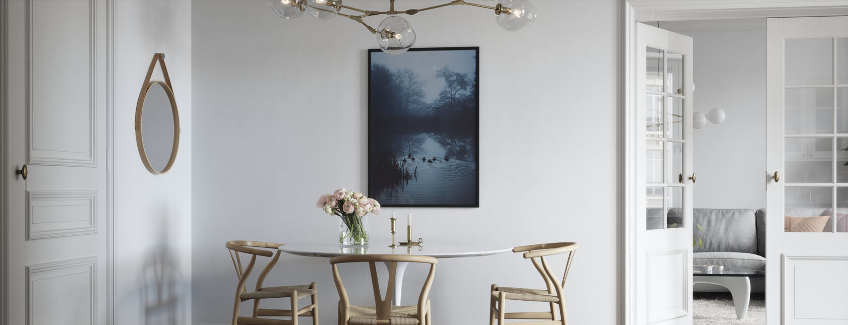 Zwemmen Blues - Poster - Keuken