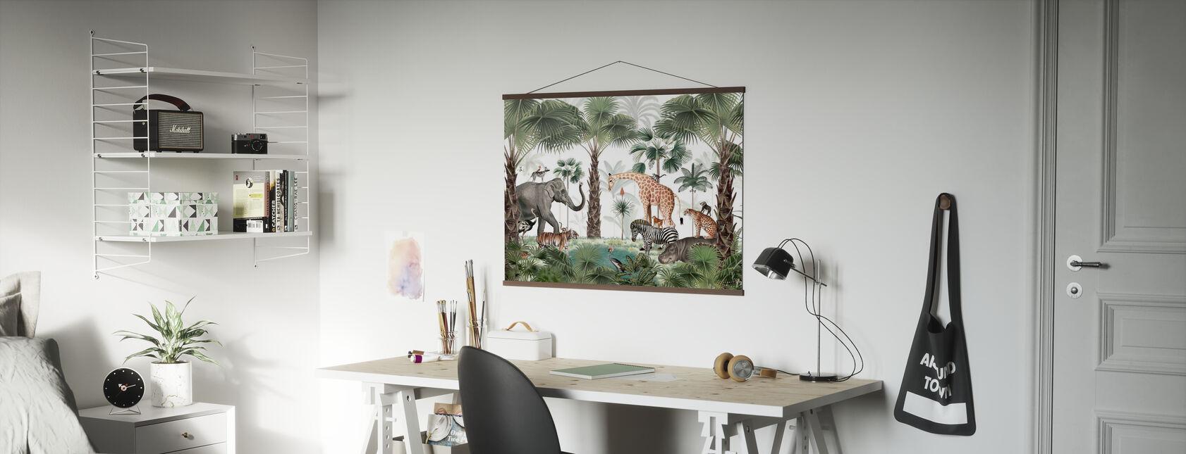 Animal Kingdom - Poster - Office