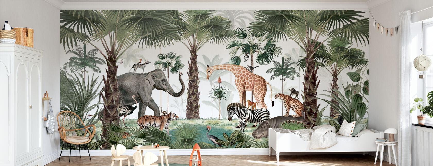 Animal Kingdom - Wallpaper - Kids Room