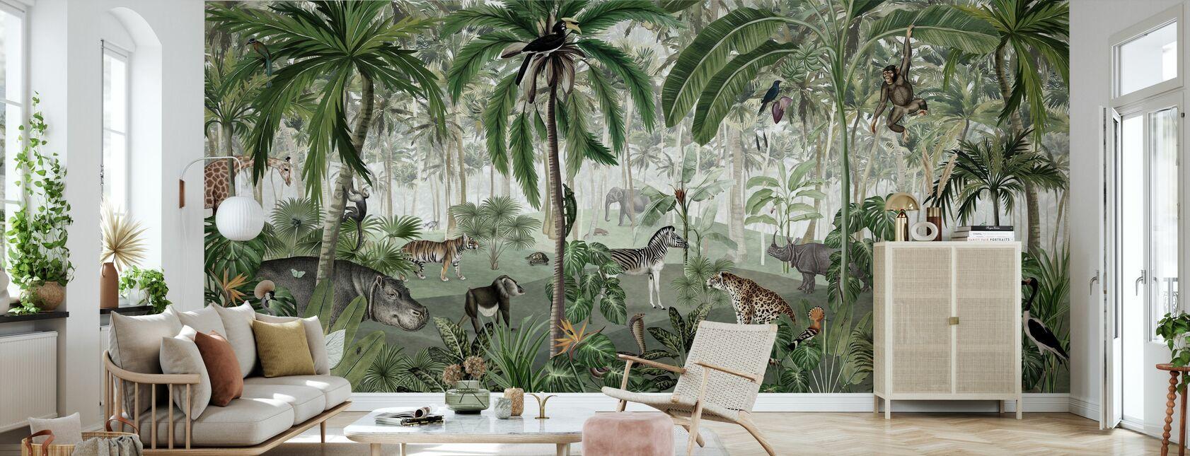 Jungle Lookbook - Tapet - Stue
