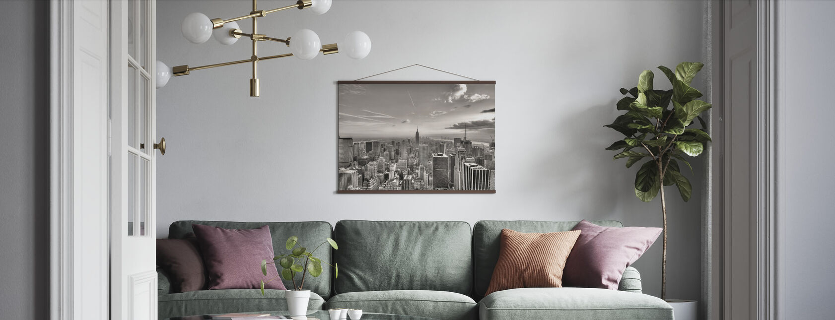 New York City, USA - Poster - Living Room