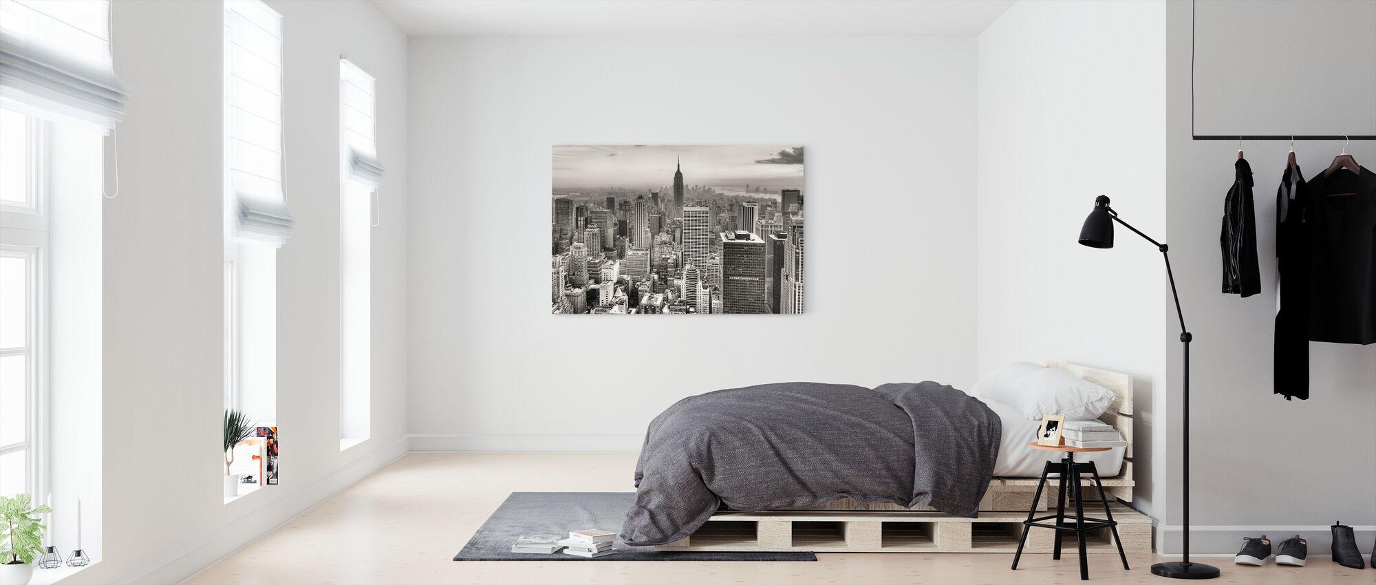 New York City, Yhdysvallat - Canvastaulu - Makuuhuone