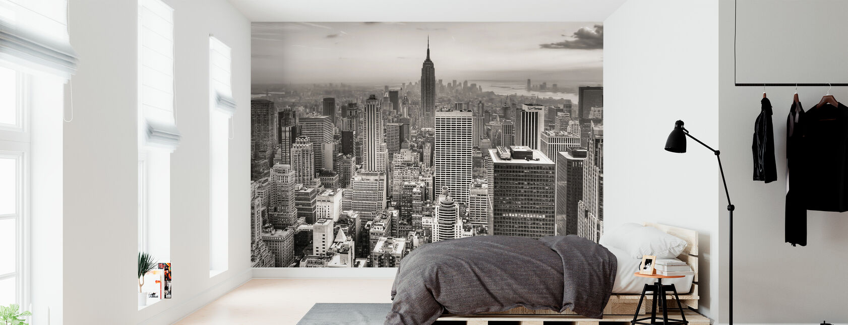 New York City, Yhdysvallat - Tapetti - Makuuhuone