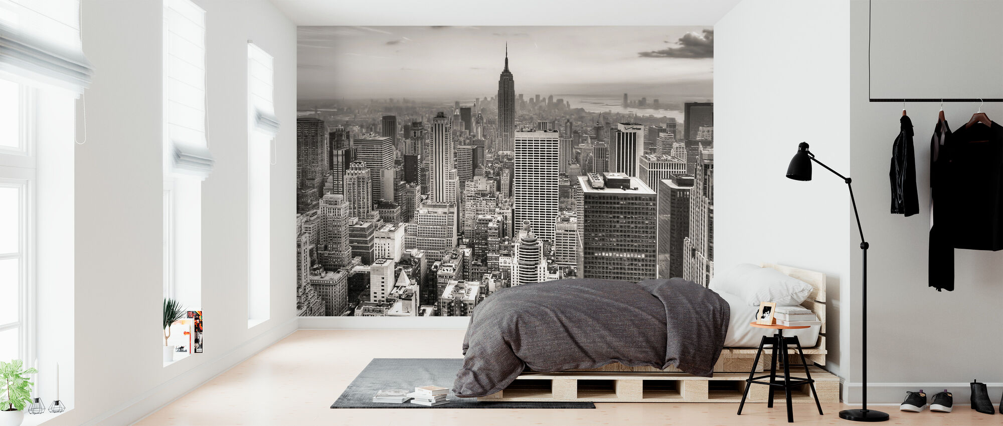 New York City, USA - Wallpaper - Bedroom
