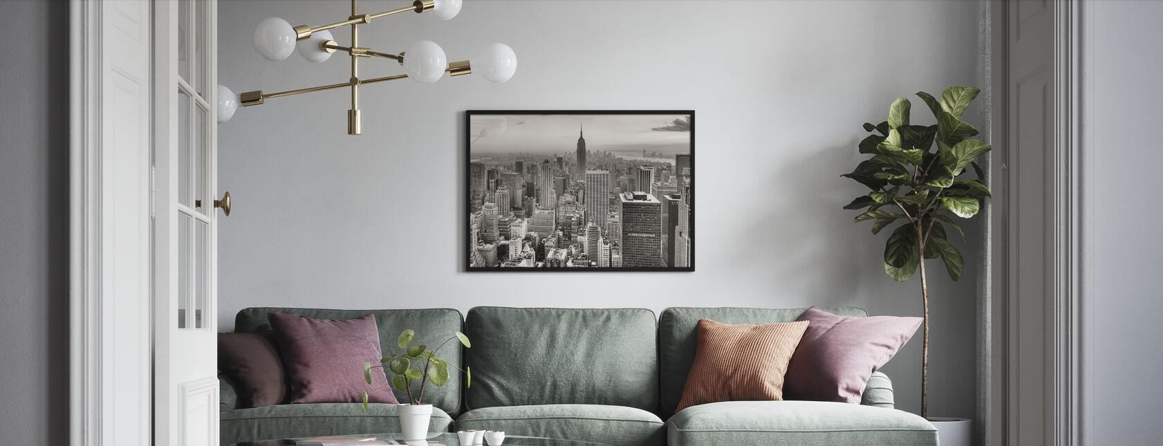 Nowy Jork, USA - Obraz w ramie - Pokój dzienny
