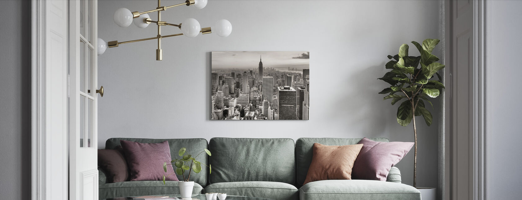 Nowy Jork, USA - Obraz na płótnie - Pokój dzienny