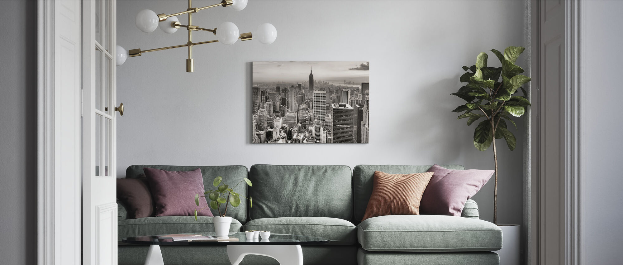 New York City, USA - Canvas print - Living Room