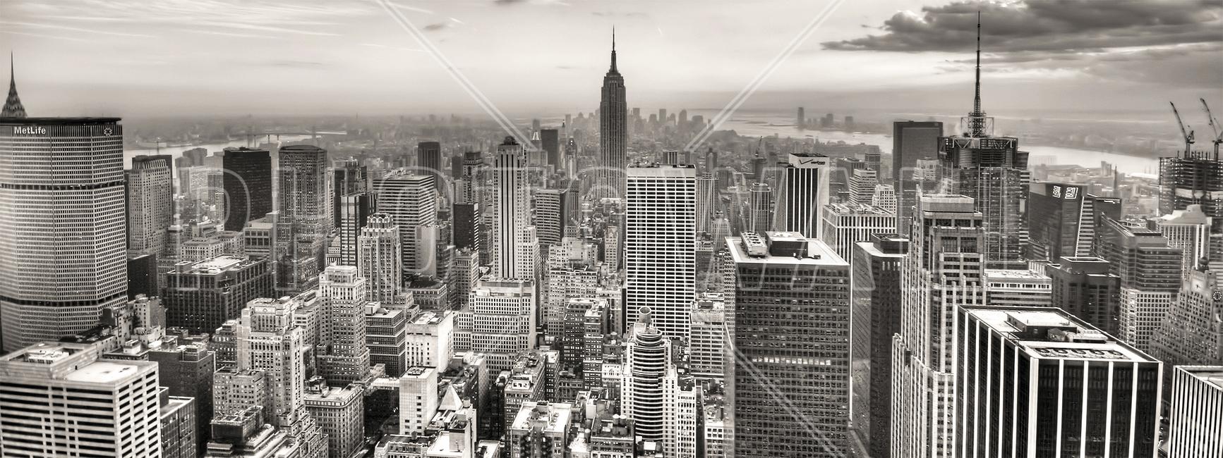 New York City, USA Fototapeter & Tapeter 100 x 100 cm