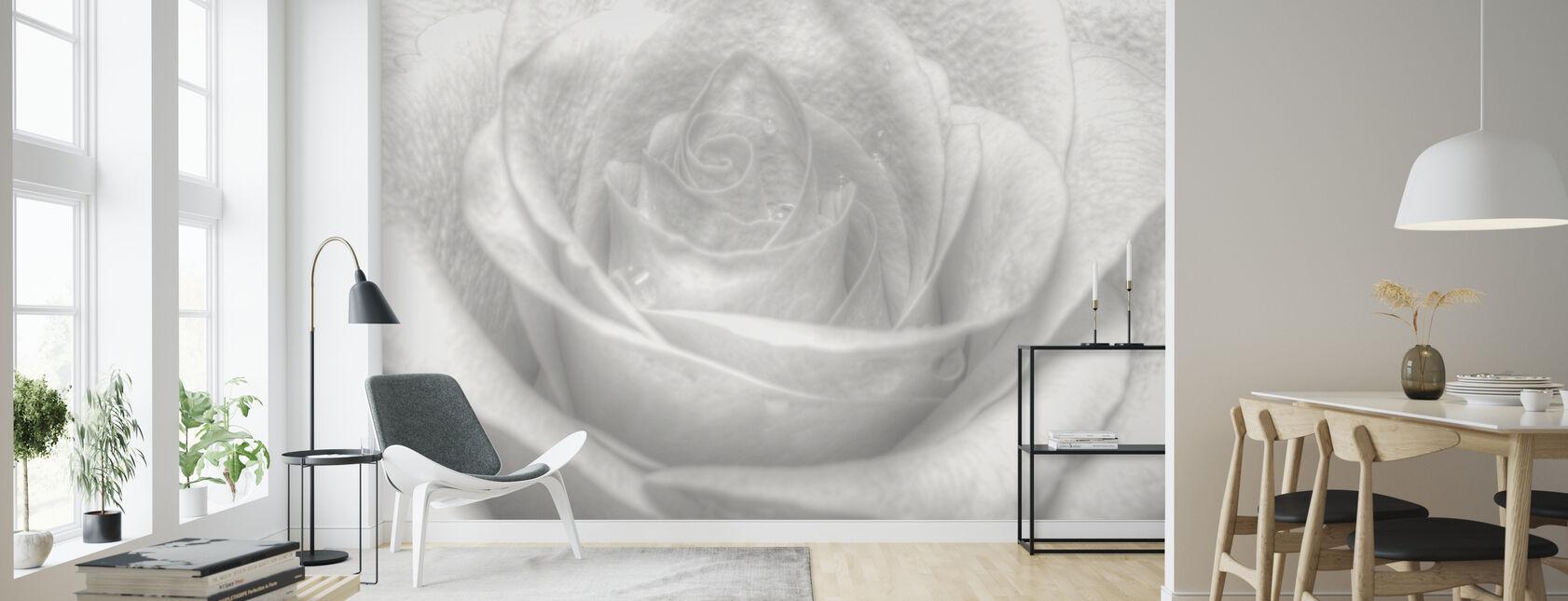 Hög nyckel ros - Tapet - Vardagsrum