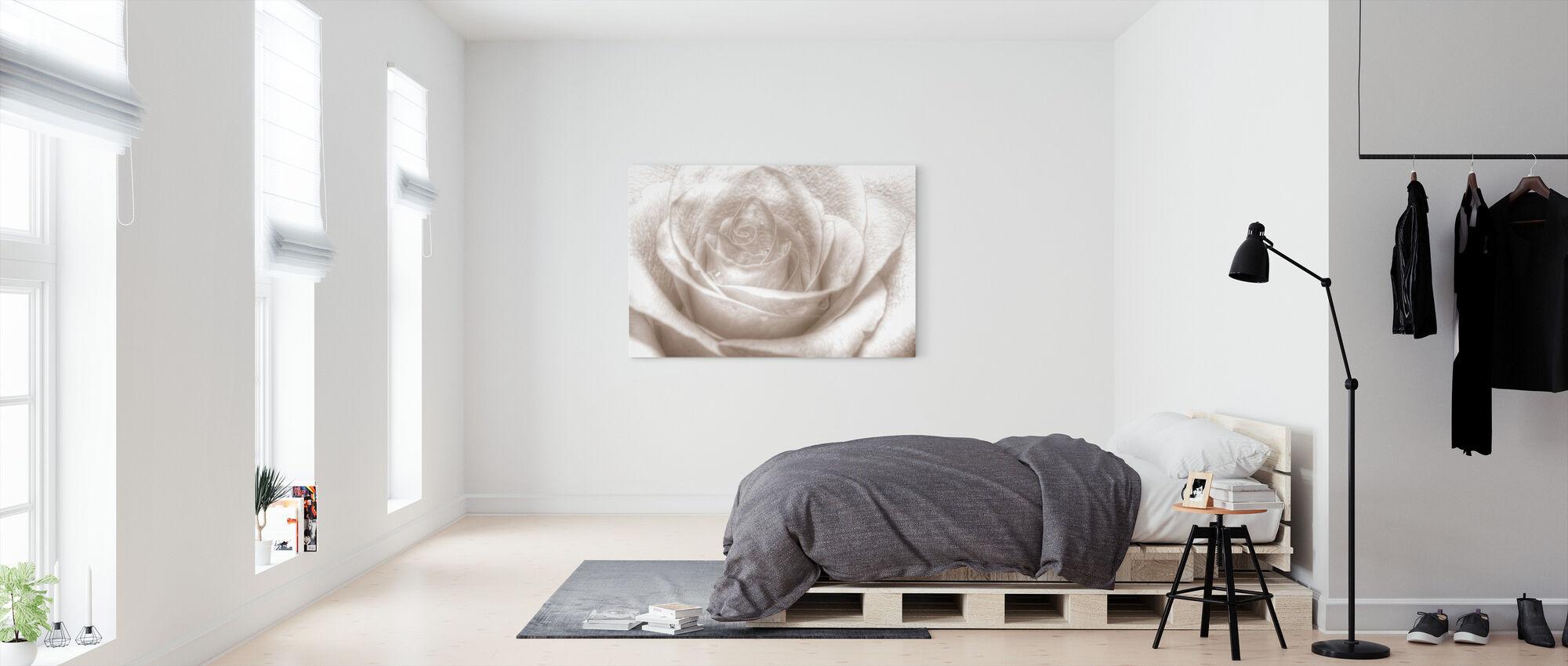 High Key Rose - Canvas print - Bedroom