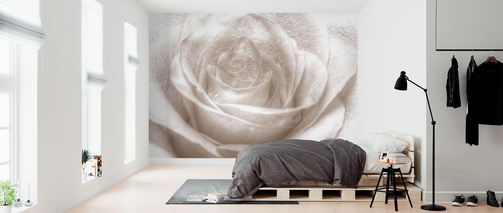 High Key Rose - Wallpaper - Bedroom