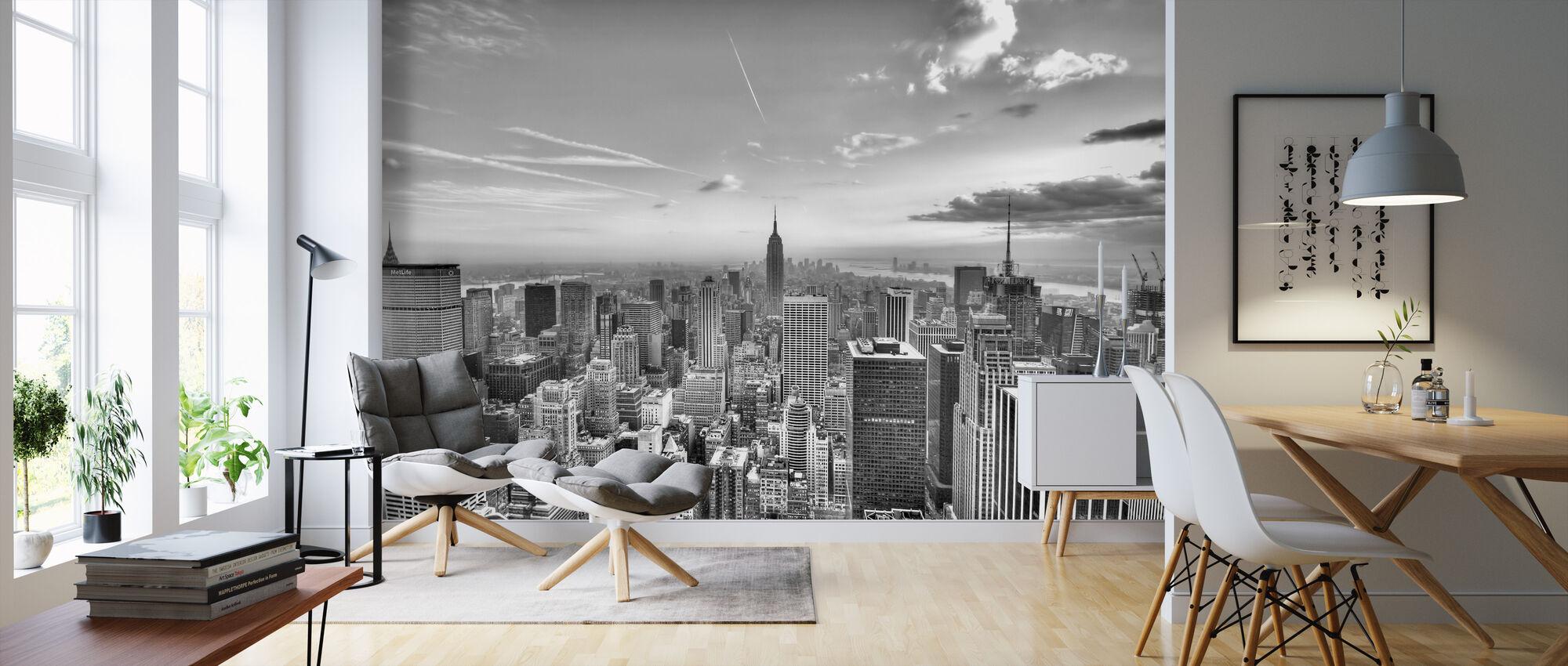 New York City, USA - Wallpaper - Living Room
