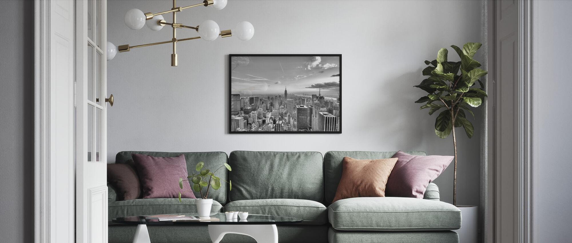 New York City, Verenigde Staten - Ingelijste print - Woonkamer