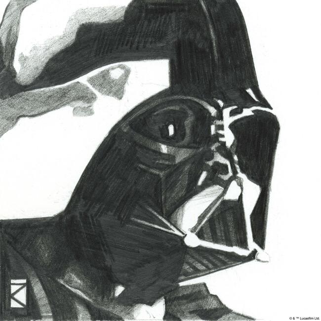 Star Wars - Darth Vader 1 Fototapeter & Tapeter 100 x 100 cm