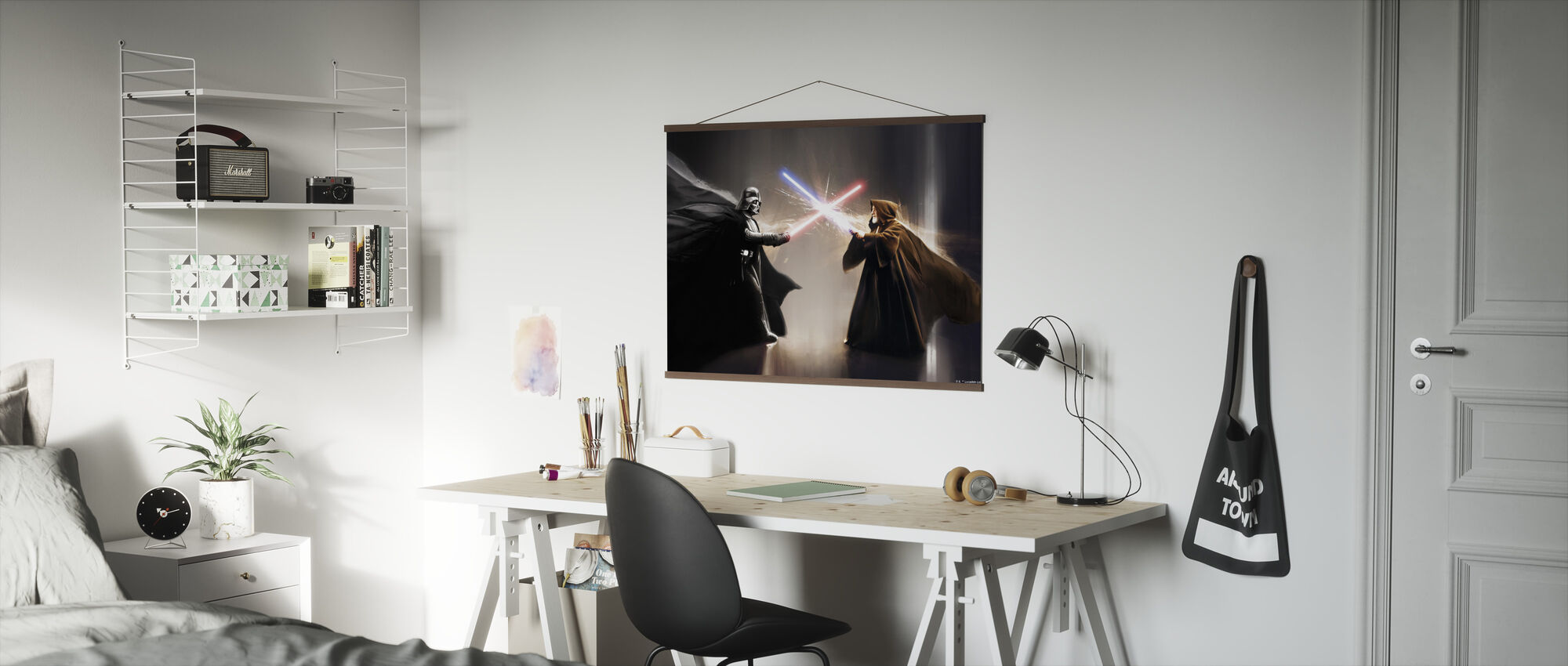 Stjärnornas krig - Darth Vader och Obi-Wan Kenobi - Poster - Kontor