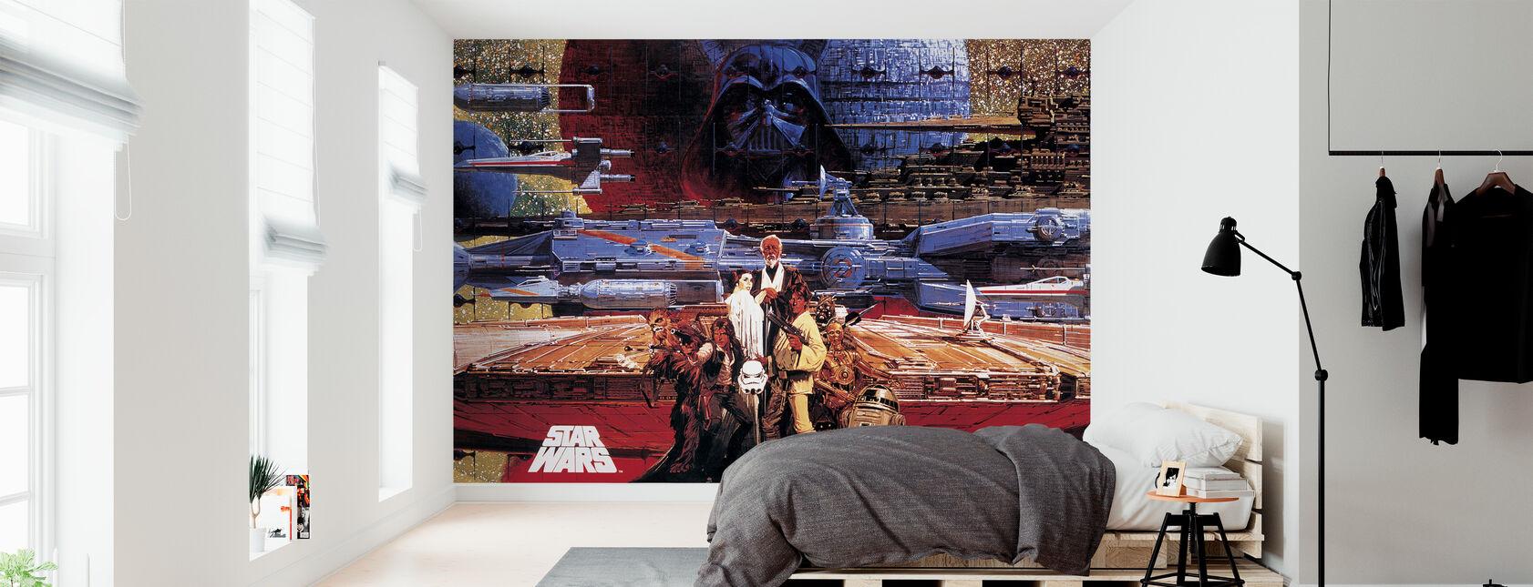 Star Wars - plakat 1 - Tapet - Soveværelse