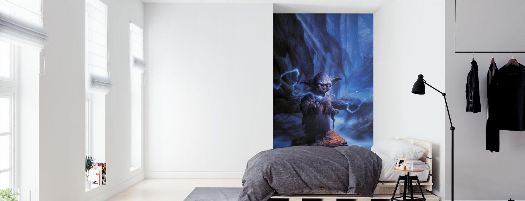 Tähtien sota - Yoda - Tapetti - Makuuhuone