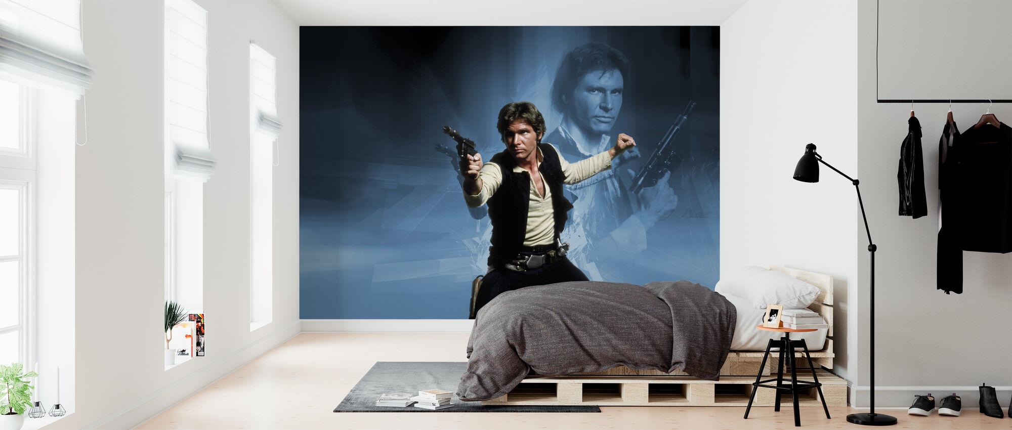 Star Wars - Han Solo Vapen - Tapet - Sovrum