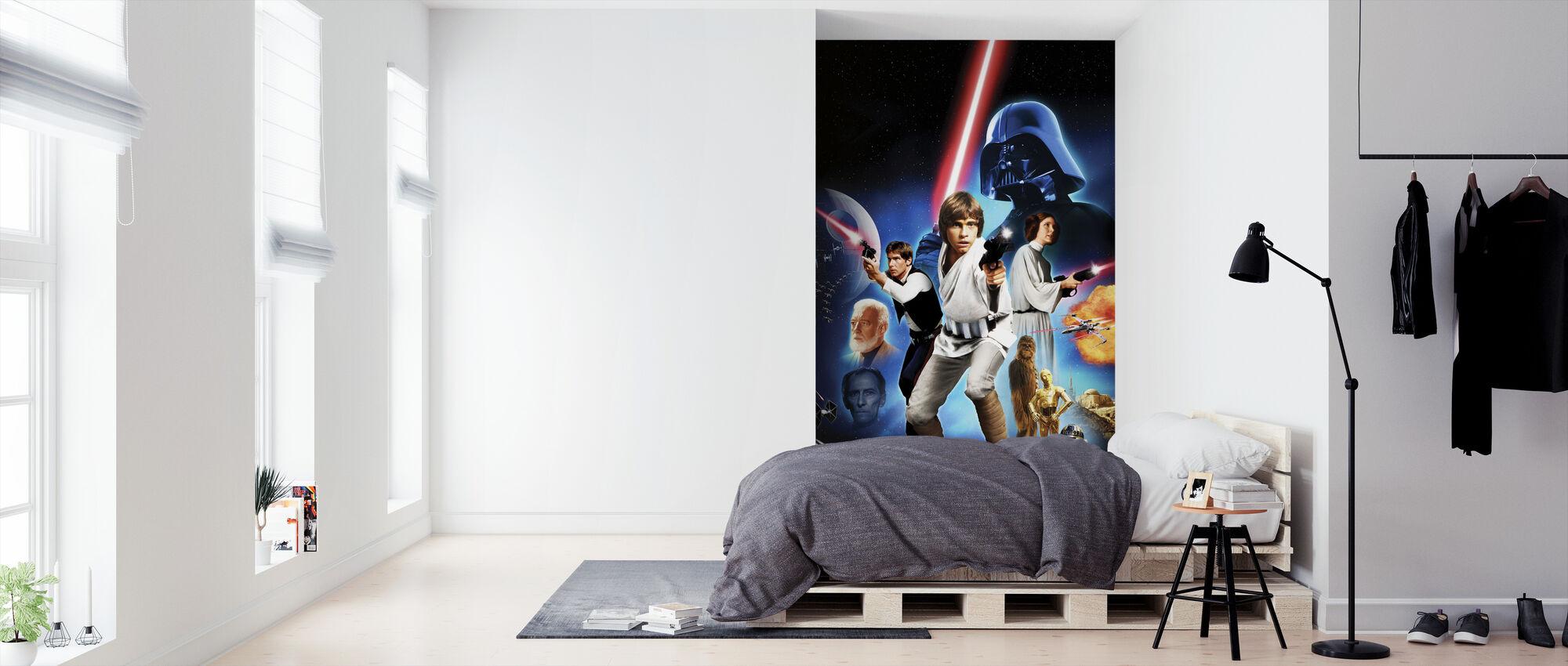 Star Wars - plakat 2 - Tapet - Soveværelse