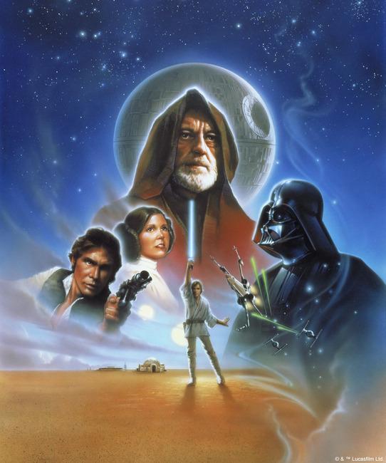 Star Wars - Poster 5 Fototapeter & Tapeter 100 x 100 cm