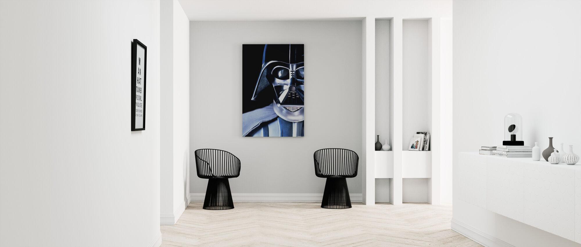 Star Wars - Darth Vader tæt på - Billede på lærred - Entré