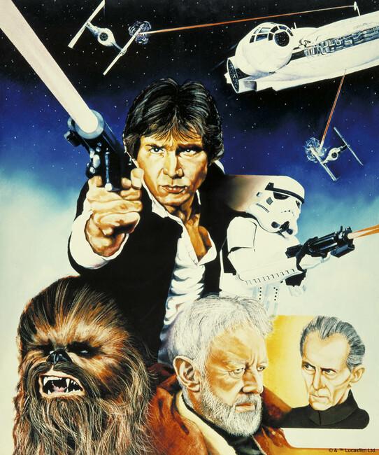 Star Wars - Poster 10 Fototapeter & Tapeter 100 x 100 cm