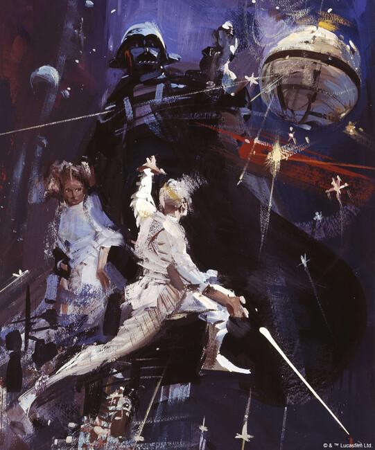Star Wars - Poster 11 Fototapeter & Tapeter 100 x 100 cm