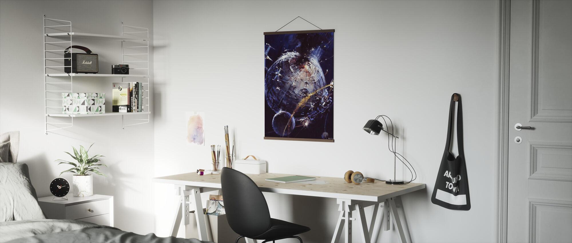Tähtien sota - Kuolemantähti - Juliste - Toimisto