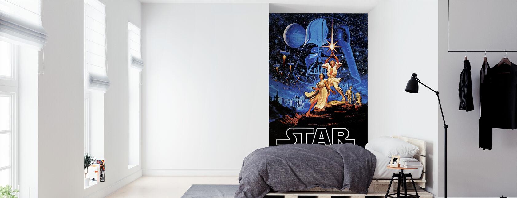 Star Wars - blå himmel plakat - Tapet - Soveværelse