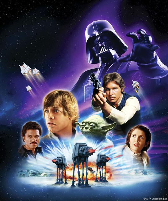 Star Wars - Poster 14 Fototapeter & Tapeter 100 x 100 cm