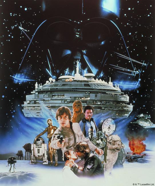 Star Wars - Millennium Falcon Fototapeter & Tapeter 100 x 100 cm