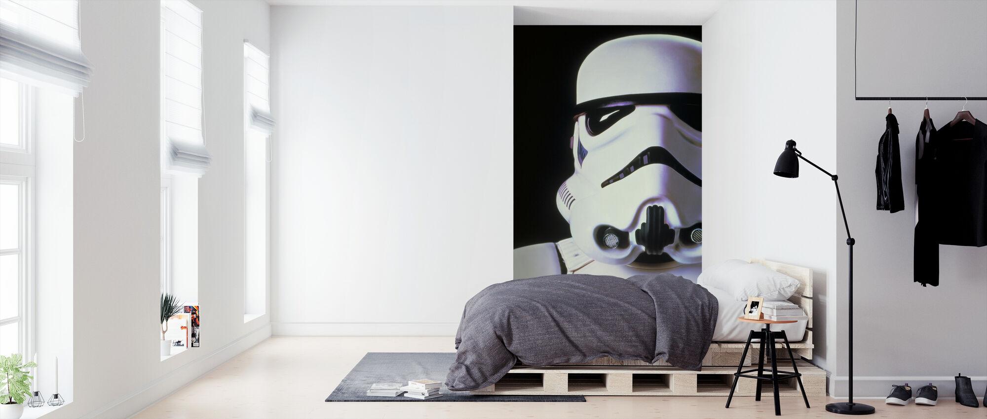 Star Wars - Stormtrooper - Tapet - Soveværelse
