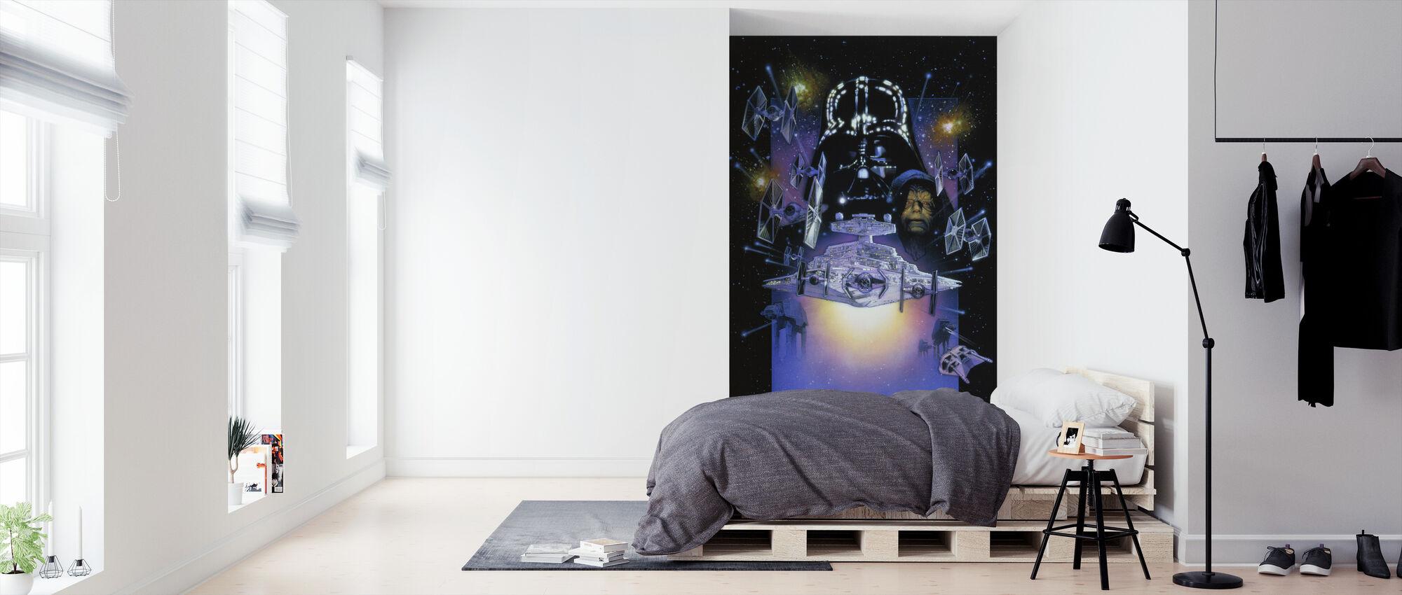 Star Wars - Darth Vader og kejser Palpatine - Tapet - Soveværelse