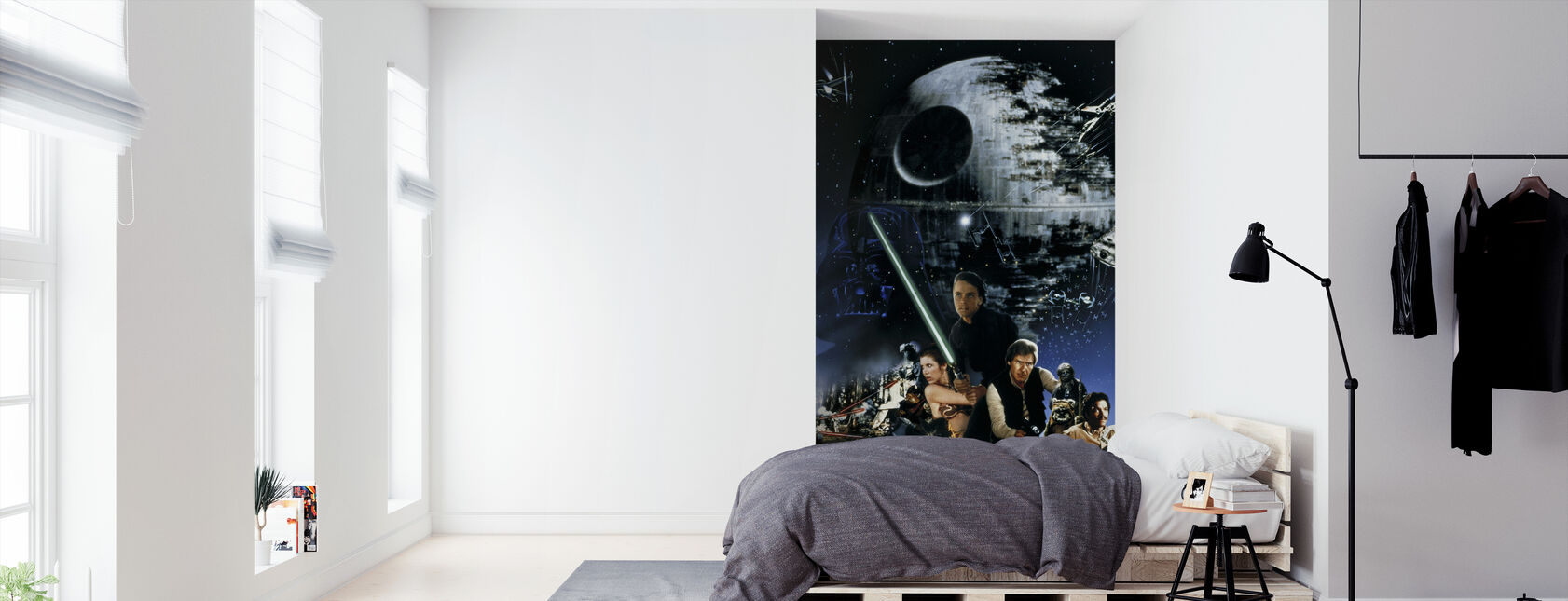 Star Wars - plakat 19 - Tapet - Soverom