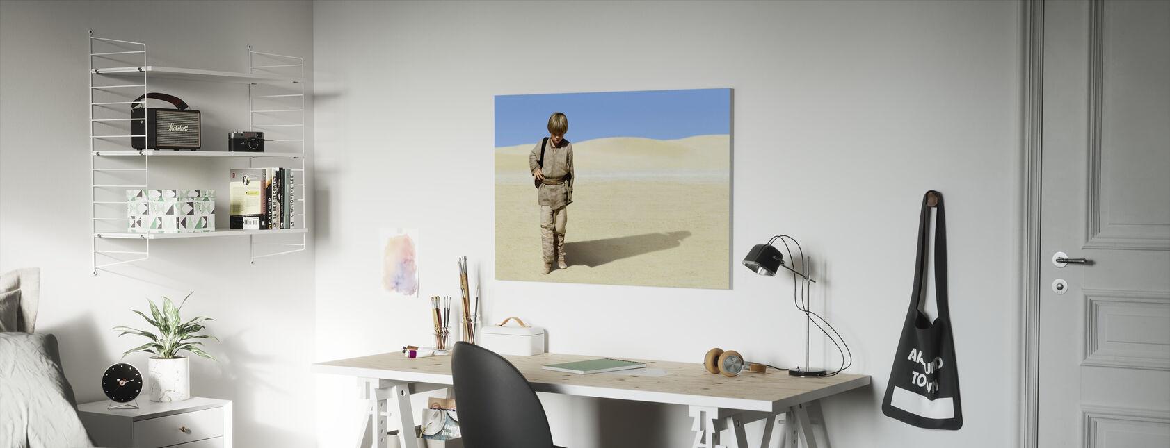 Star Wars - unge Anakin Skywalker 1 - Lerretsbilde - Barnerom