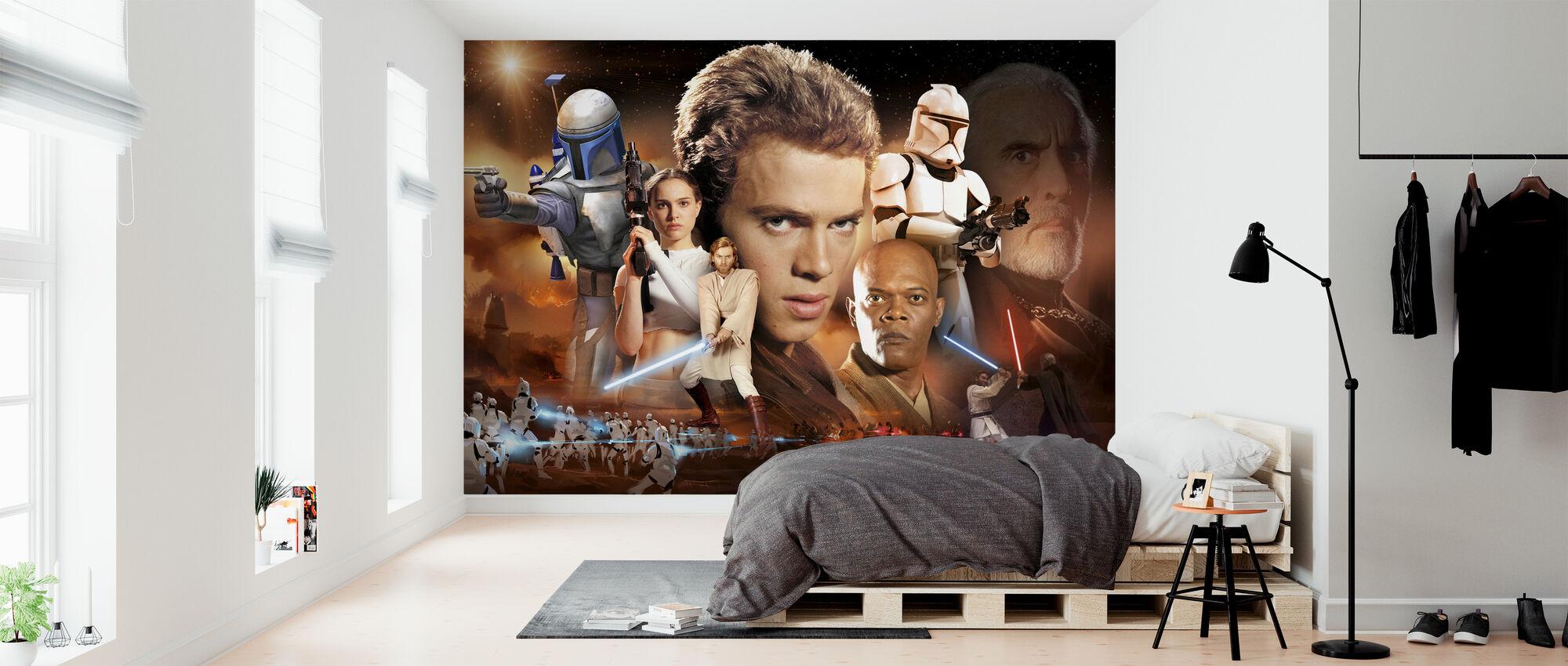 Star Wars - ørken collage - Tapet - Soverom