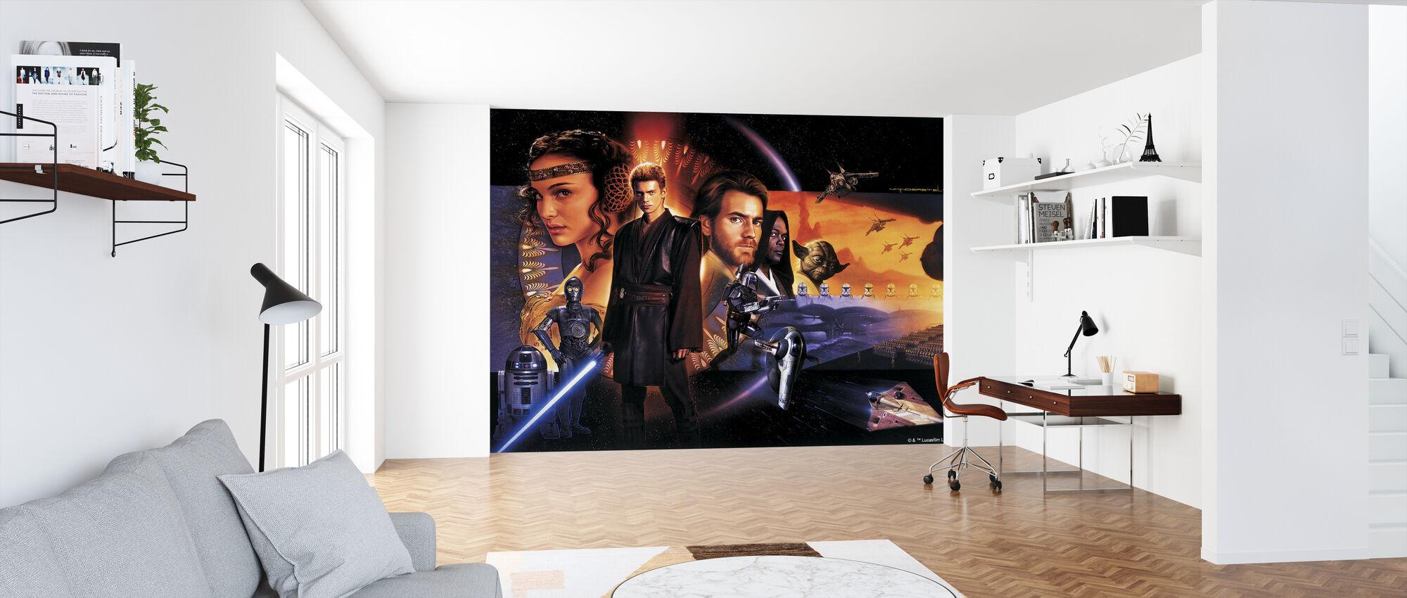 Stjärnornas krig - Space och Desert Collage - Tapet - Kontor