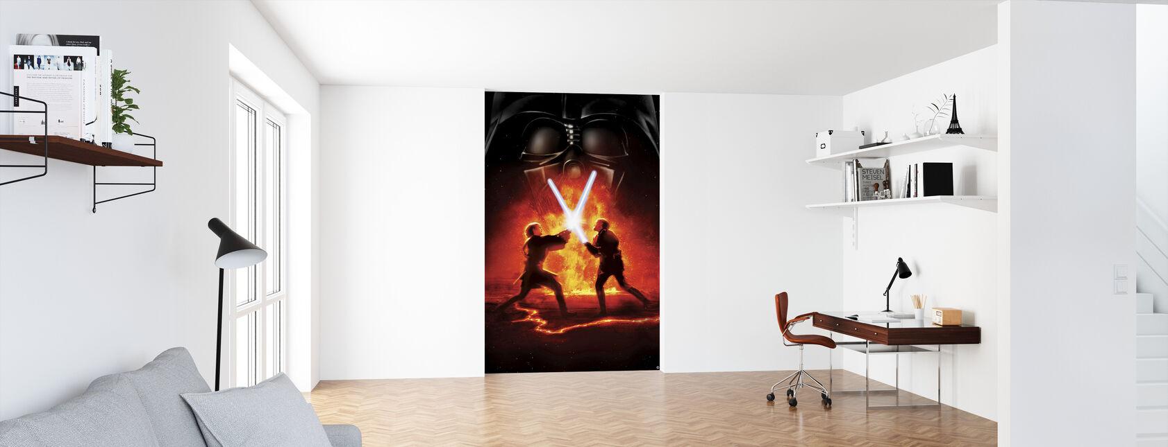 Star Wars - Lava kamp 2 - Tapet - Kontor