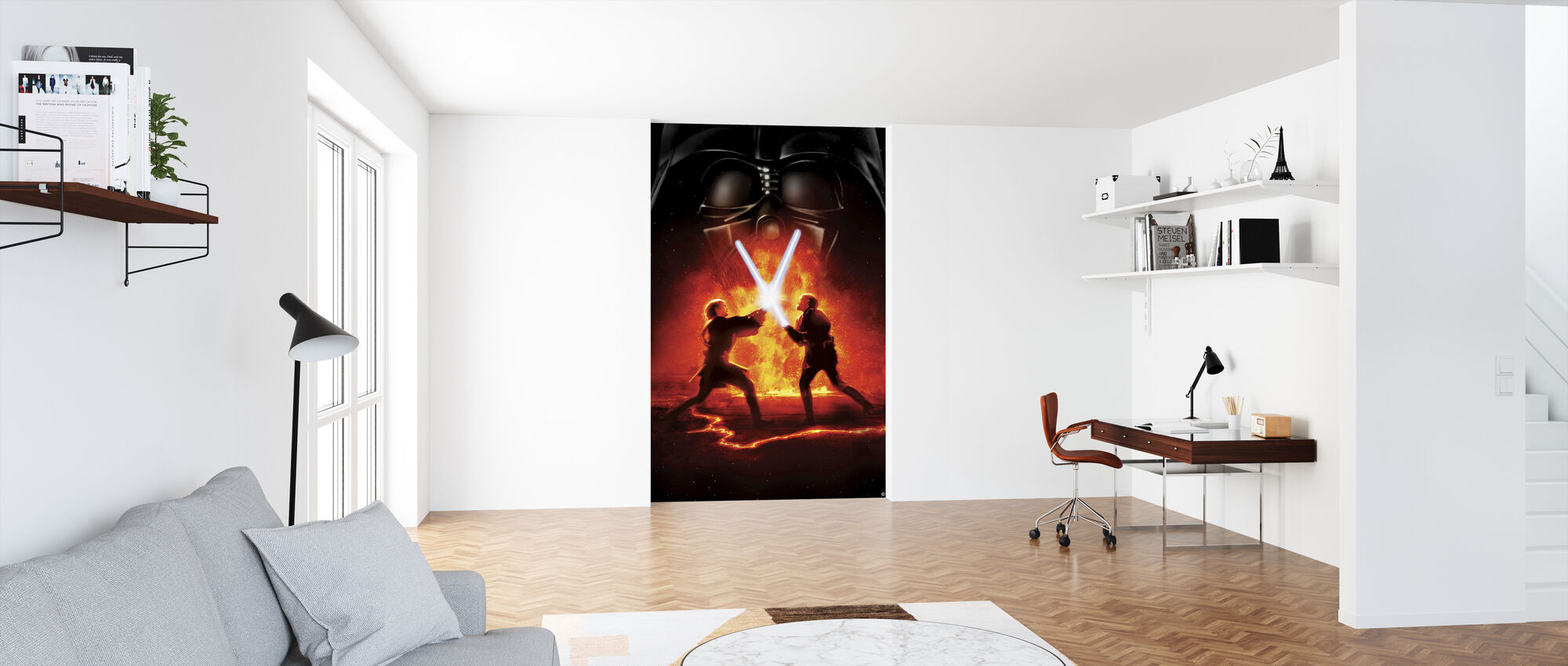 Star Wars - Lava kampen 2 - Tapet - Kontor