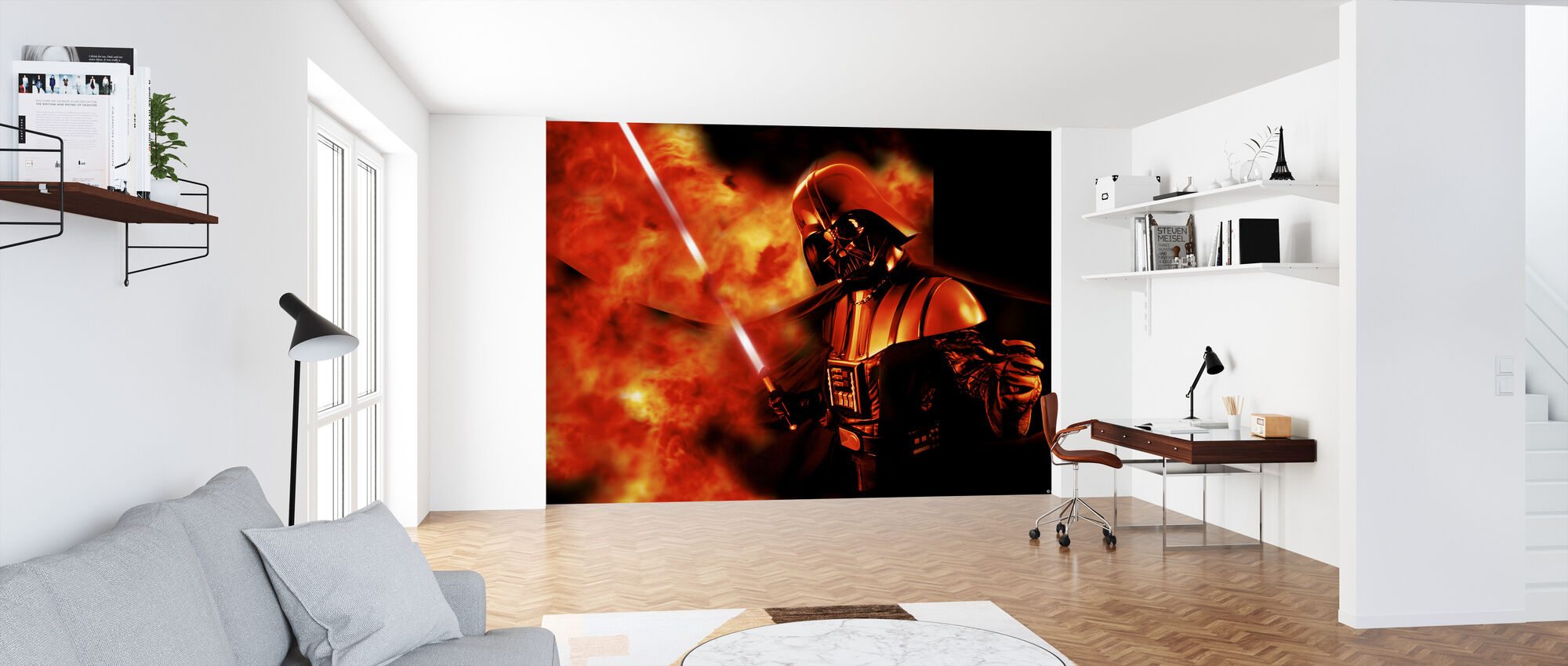 Star Wars - Darth Vader eksplosjon 2 - Tapet - Kontor