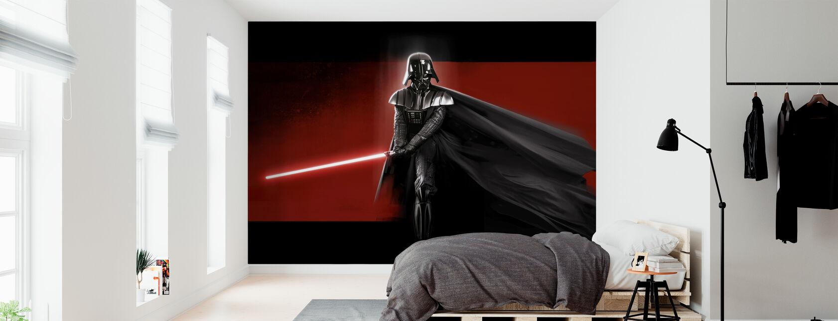 Stjärnornas krig - Darth Vader Röd - Tapet - Sovrum