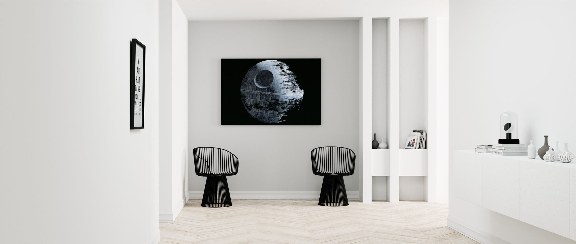 Star Wars - Death Star 2 - Canvastavla - Hall