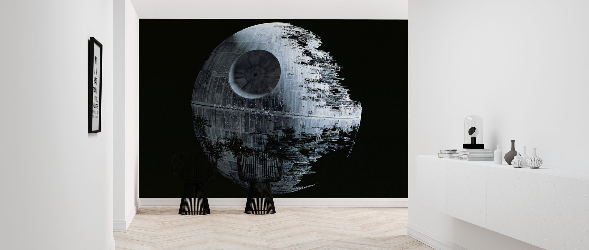 Star Wars - Død Star 2 - Tapet - Entré