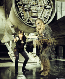 Canvastavla - Star Wars - Han Solo and Chewbacca