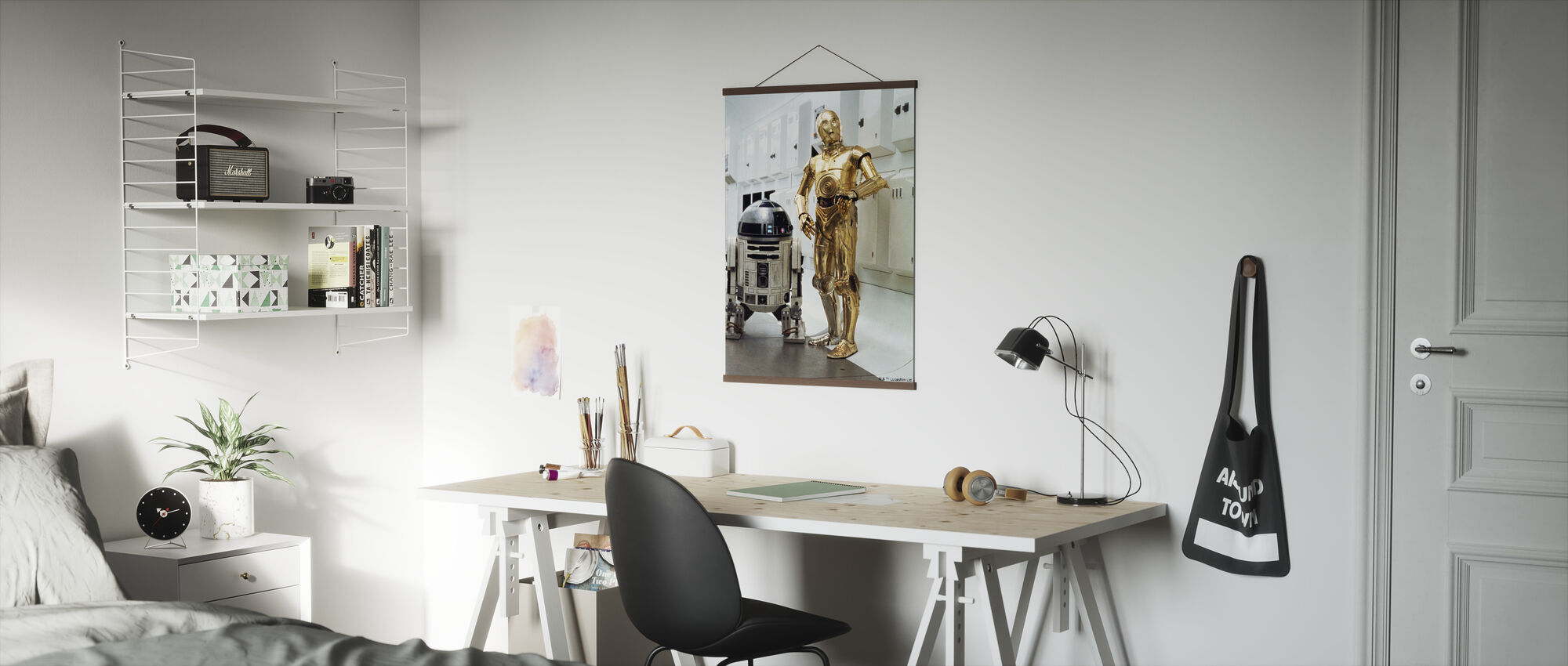 Star Wars - R2-D2 ja C-3PO Interiors - Juliste - Toimisto