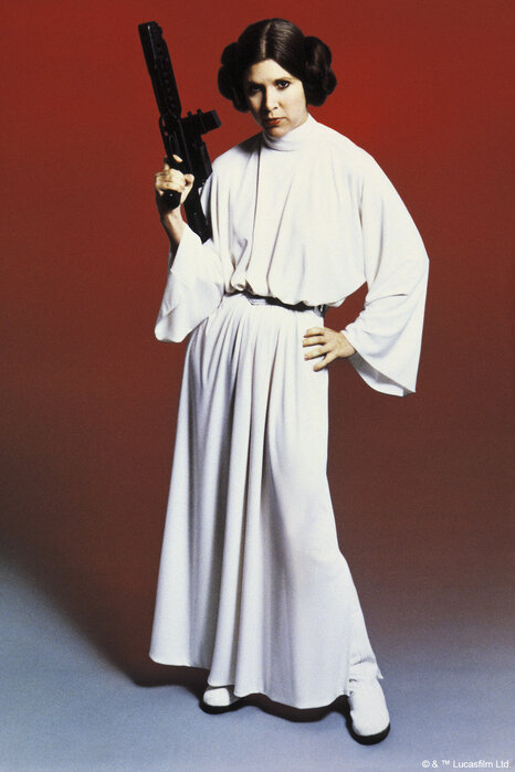Star Wars - Princess Leia Weapon – high-quality wall murals with ... 0ac297eac4fb7