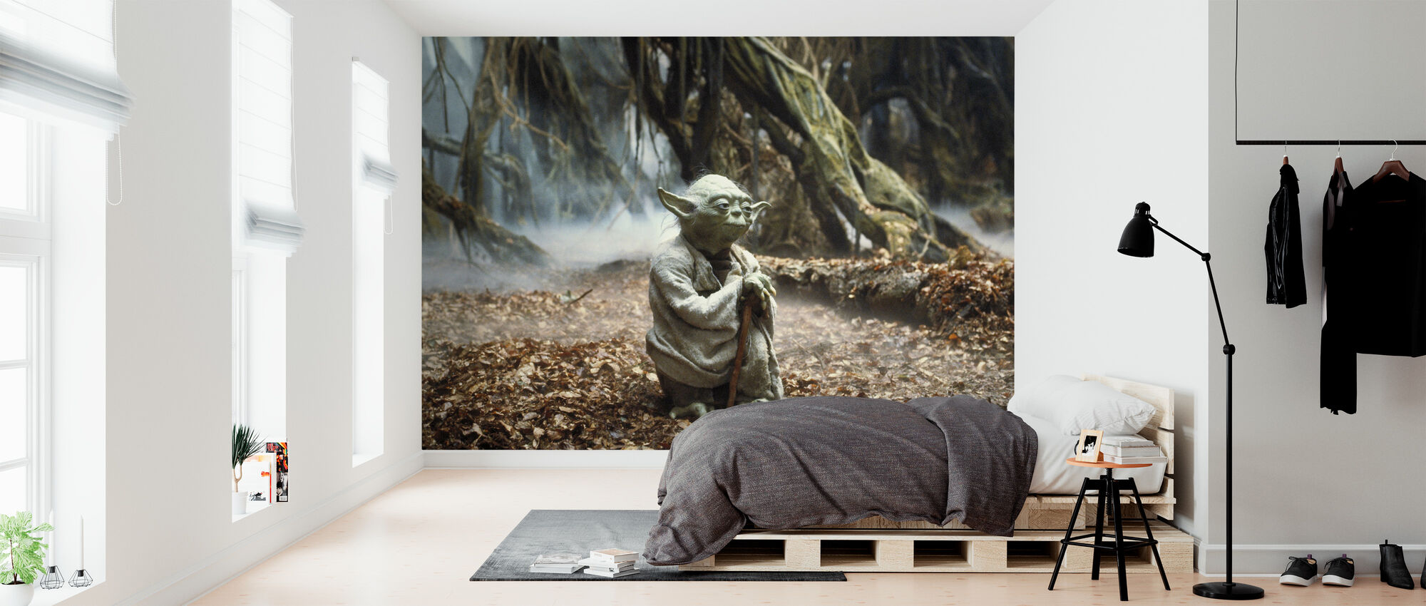 Stjärnornas krig - Yoda Dagobah 2 - Tapet - Sovrum